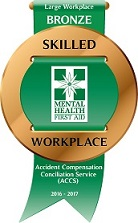 ACCS MHFA Skilled Workplace Recognition Badge